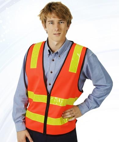 Vic Roads Style Day Night Vest