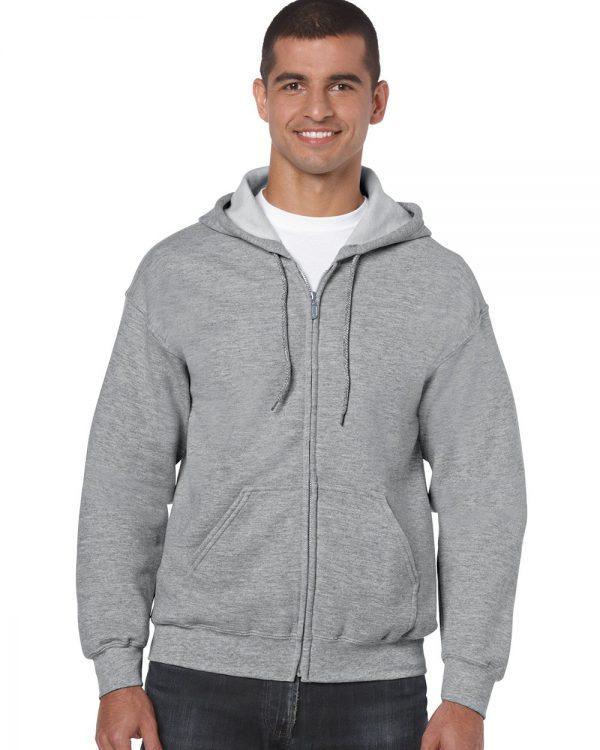 Heavy Blend Full Zip Hooded Sweatshirt