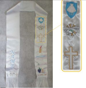 religeous stole with name