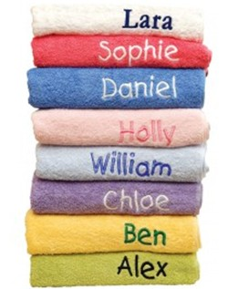 Large Embroided Name