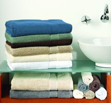 Large Embroided Name + Elite Bath Towel