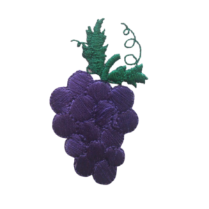 grapes stole symbol embroidered