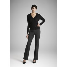 Adjustable waist capri pant