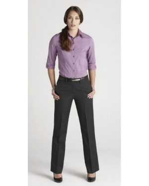Mid Rise Adjustable Waist Pant