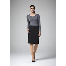Bandless Lined Skirt