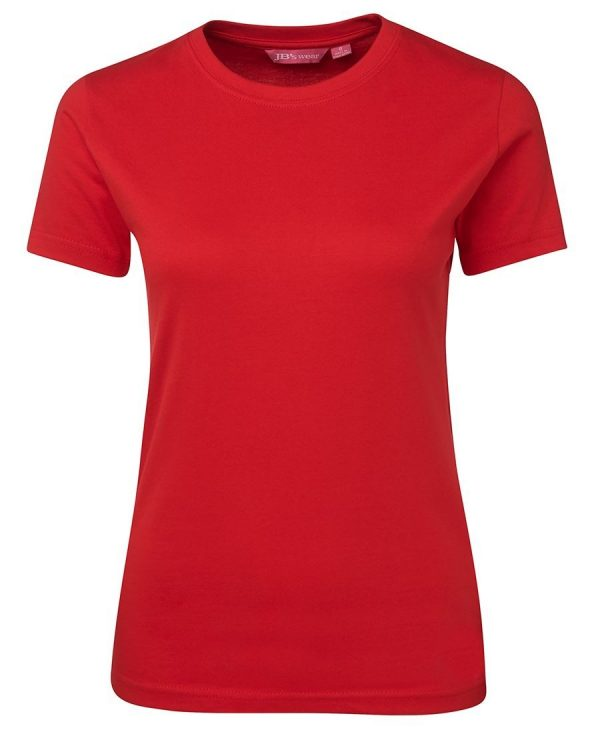 Ladies Tee Red