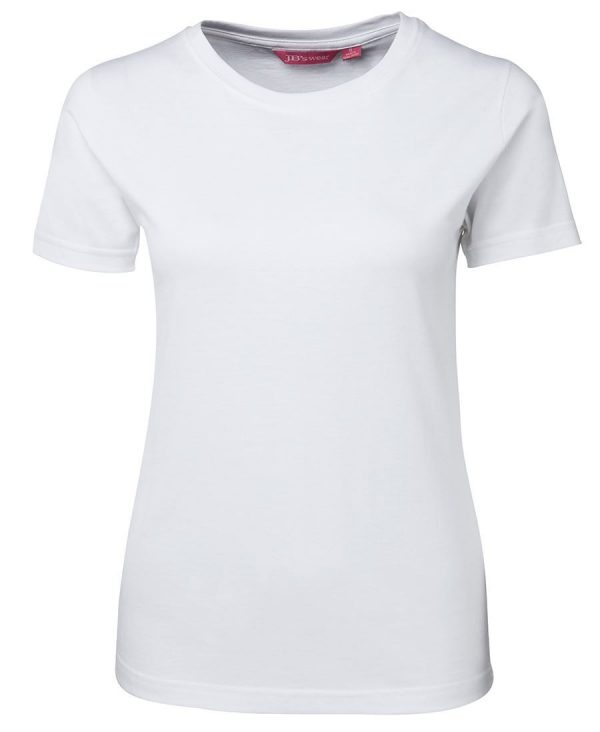 Ladies Tee White