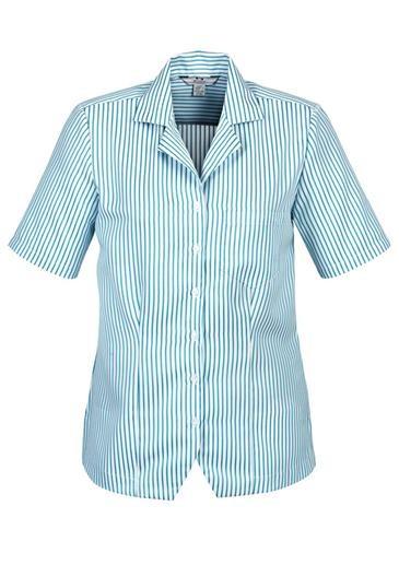 Oasis Stripe Ladies Overblouse