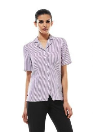 Oasis Stripe Ladies Overblouse
