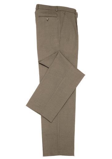 Classic flat front pant