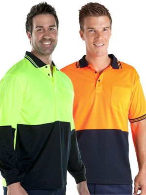 Hi Vis traditional polo