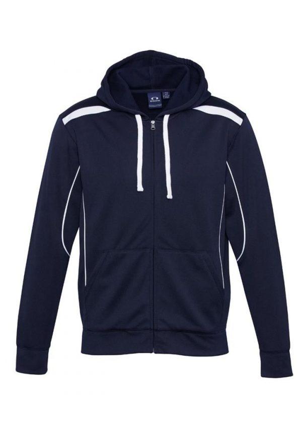 United Mens contrast hoodie