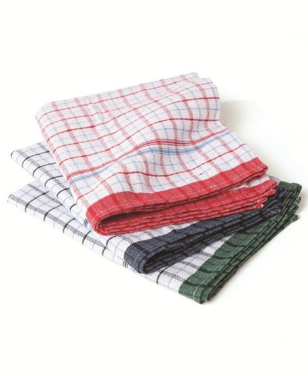 Jacquard Tea Towel 12 pack