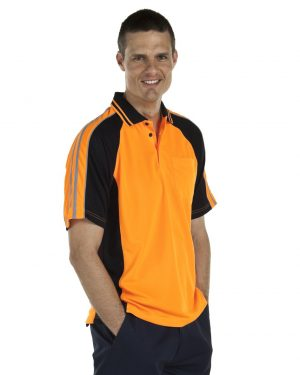 Hi Vis Arm Tape Polo