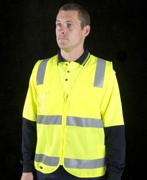 Hi Vis (D&N) Zip Safety Vest