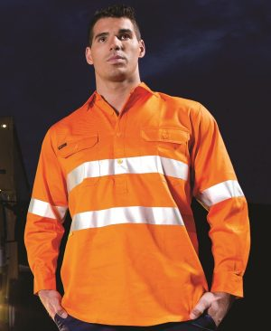 Hi Vis (D&N) close front L/S shirt