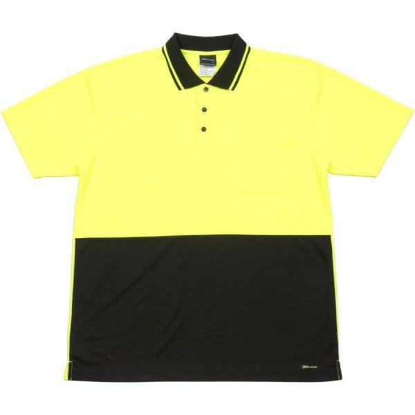 Hi Vis 4602.1, Non cuff Traditional Polo