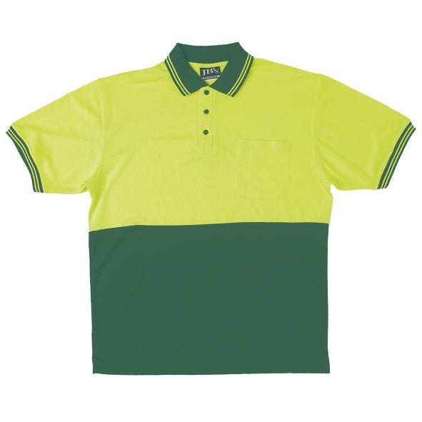 Hi Vis Cotton Back Polo