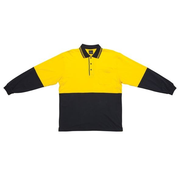 Hi Vis Cotton Polo