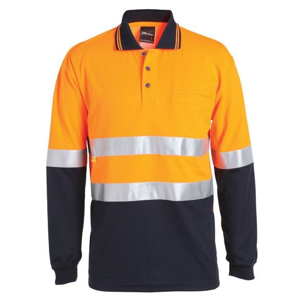 Hi Vis (D&N) Cotton Back Polo