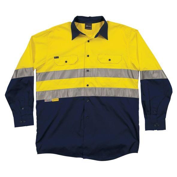Hi Vis L/S (D&N) 150g Work Shirt
