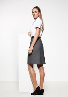 Ladies Feature Pleat Skirt