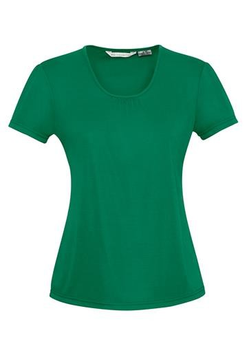 Chic Ladies Top New Green