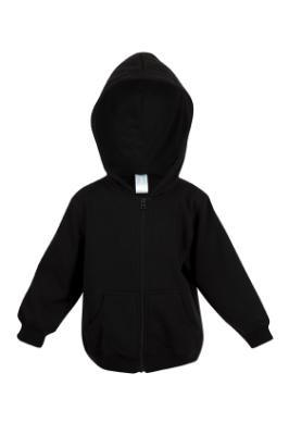 Fleece Baby Hoodie with zip