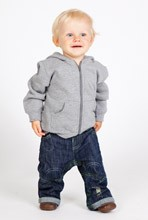 Fleece Baby Hoodie with zip