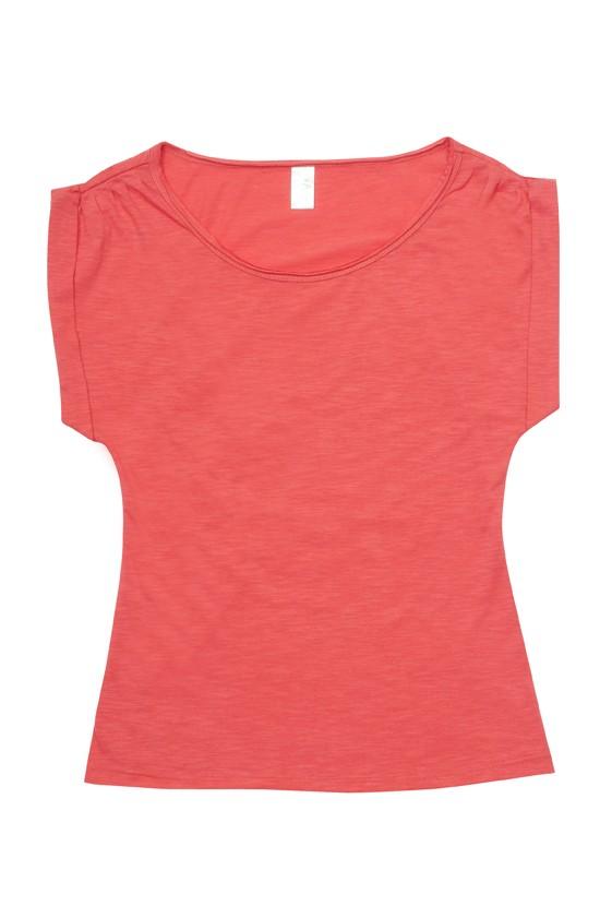 Cotton Wave Wide neck T-shirt