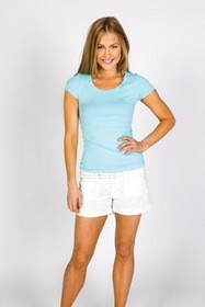 Ladies Cotton/Spandex Tee