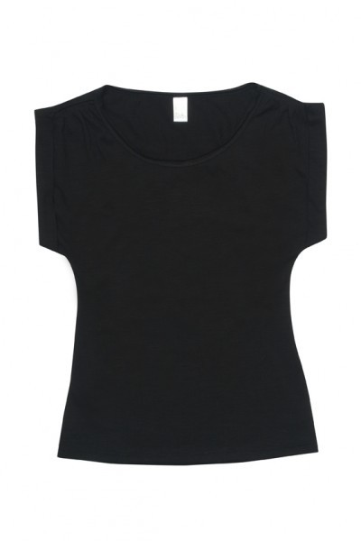 Cotton Wave Wide neck T-shirt