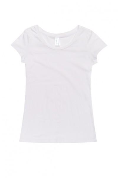 Ladies Cotton/Spandex Tee