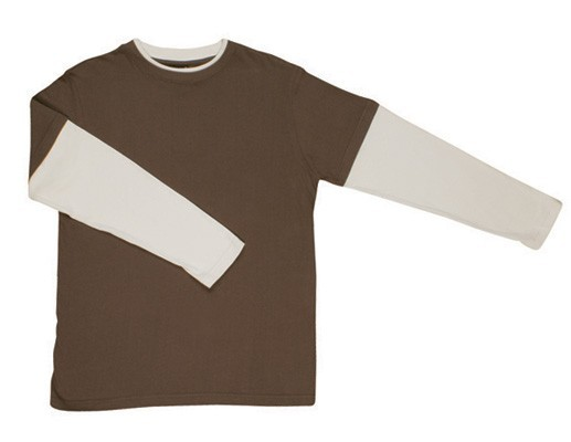 Double sleeve & Rib T-shirt