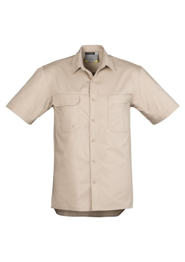 Light Weight Tradie Shirt Short Sleeve