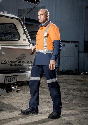 Day/Night Industrial Shirt - Mens - Shoulder