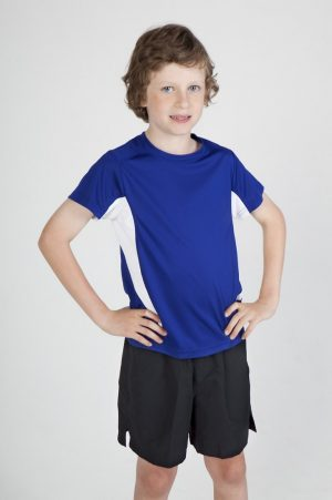 Accelerator Tee: Kids Cool Dry T-Shirt