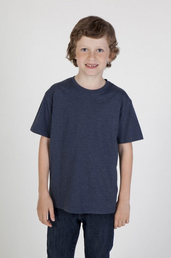 Kids Crew Neck Marl T-Shirt