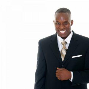 Men's Suit Jacket 100% Wool - Black