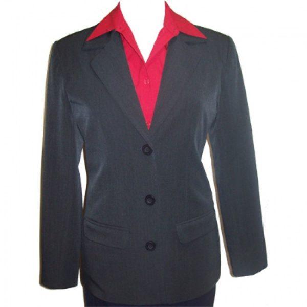 Ladies Lightweight 3 Button Jacket
