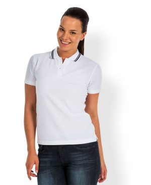 Ladies Fine Knit Polo