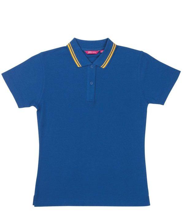 Ladies Fine Knit Polo