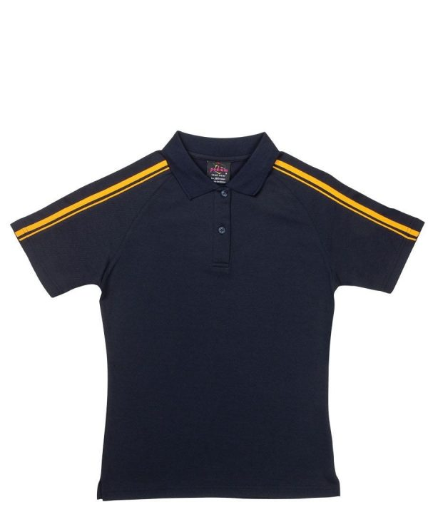 Dual Stripe Polo - Ladies