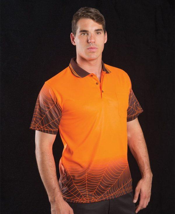 Hi Vis Short Sleeve Web Polo