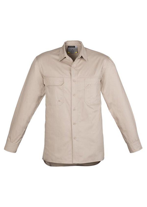 Light Weight Tradie Shirt Long Sleeve