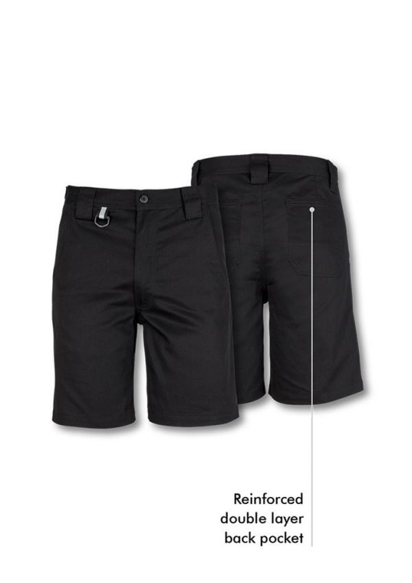 Mens Plain Utility Short