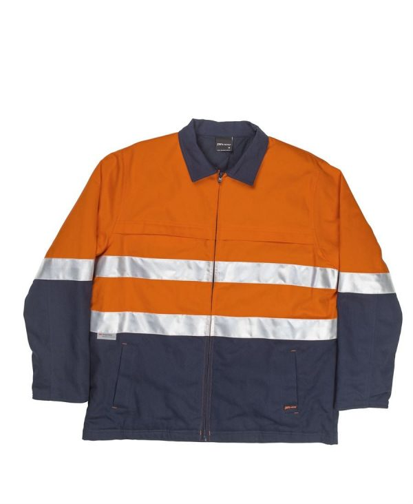 Hi Vis Day & Night Cotton Jacket