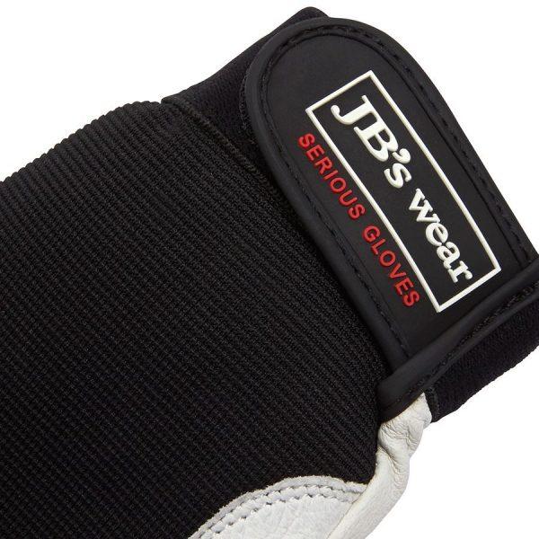 Stretch/ Leather Glove