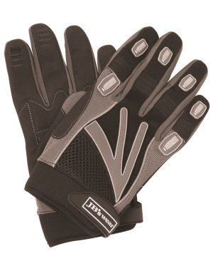 Black/ Grey Mechanics Glove