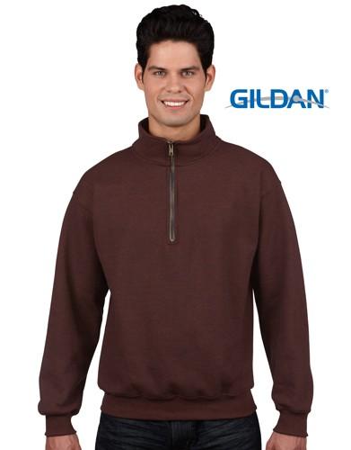 Vintage Classic Adult 1/4 Zip Cadet Collar Sweatshirt